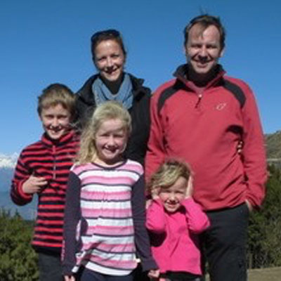 Photograph of The Douglas Family